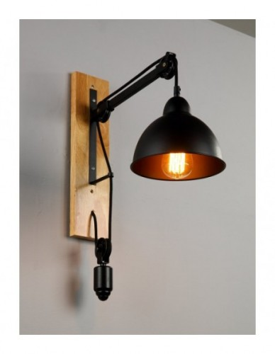Vintage Industrial Square Wall Sconce